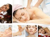 Feito massagens Fotografia de Stock