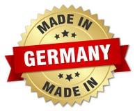 Feito no crachá de Alemanha ilustração stock