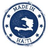 Feito no selo de Haiti ilustração stock