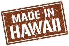 Feito no selo de Havaí ilustração do vetor