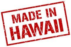 Feito no selo de Havaí ilustração stock