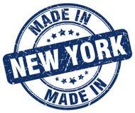 Feito no selo de New York ilustração royalty free