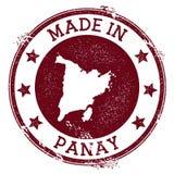 Feito no selo de Panay ilustração do vetor