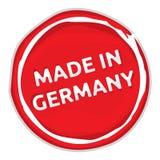 Feito no sinal de Alemanha Foto de Stock Royalty Free