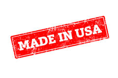 Feito nos EUA Fotos de Stock