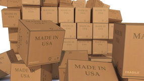 Feito nos EUA Foto de Stock