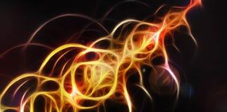 Feixe da energia de luz Ilustração Royalty Free