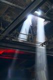 Feixe de luz Fotografia de Stock