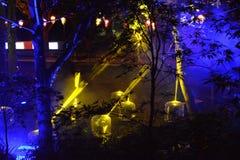 Feixes de luz estrangeiros Imagem de Stock Royalty Free