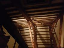 Feixes de madeira fotografia de stock