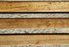 Fundo dos feixes de madeira imagens de stock royalty free