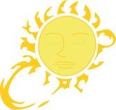 Feixes de Sun ilustração stock