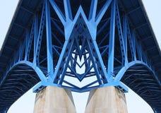 Feixes de sustentação da ponte fotos de stock royalty free