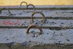 Feixes do concreto reforçado Fotografia de Stock