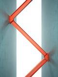Feixes do ferro ilustração do vetor