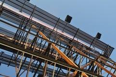 Feixes na construção Imagem de Stock Royalty Free