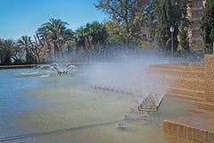 Feixina-Parkbrunnen Lizenzfreies Stockfoto
