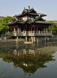 Feiying hall in spring season. Feiying hall is a histric building in Feiying park Stock Image