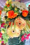 Fejka blommor Royaltyfria Bilder