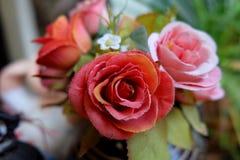 Fejka blommor Arkivfoto