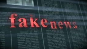 Fejka nyheternabegreppet arkivfoton