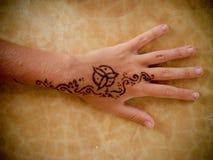 fejka tatueringen Royaltyfri Foto