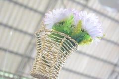 fejkade blommor Arkivbild