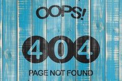 fel 404 Fotografering för Bildbyråer
