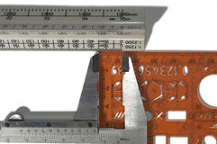 Felaktig mätning Arkivfoton