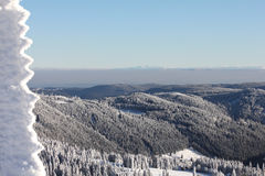 Felberg summit, Black Forest - Germany Stock Image