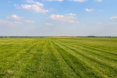 Feld auf Landschaft lizenzfreies stockfoto