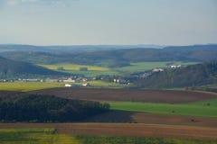 Feld auf Tschechisch Stockfotos