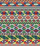 Feld des Afrikanisch-Stammes-Kunst Musters Stockfotos