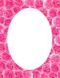 Feld des Blumenrosenaquarell-Grußkarten-Glückwunschdekorations-Einladungsfeiertags vektor abbildung