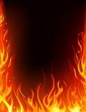 Feld des Feuers Lizenzfreie Stockbilder