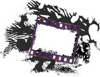 Feld des Filmes, grungy Fotorahmen lizenzfreie abbildung