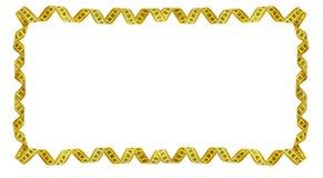 Feld des gelben messenden Bands Lizenzfreies Stockfoto