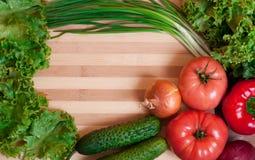 Feld des Gemüses Lizenzfreie Stockfotos