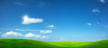 Feld des Grüns Lizenzfreies Stockbild