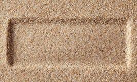 Feld eine Schicht des Sandes. stockfotos