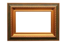 Feld für Bild auf Weiß stockfotos
