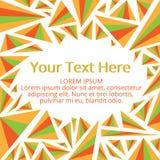 Feld für Ihren Text lizenzfreie abbildung
