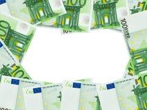 Feld gebildet vom Geld Lizenzfreies Stockfoto