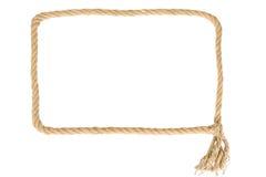 Feld gebildet vom Seil stockfotos