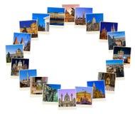 Feld gemacht vom Reise-Bildhintergrund Wiens Österreich meine Fotos Lizenzfreie Stockfotos
