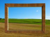 Feld Hügel lizenzfreie abbildung