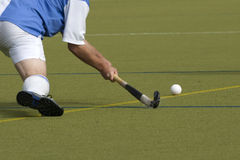Feld-Hockey-Spieler Stockfotos