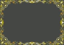 Feld horizontal Lizenzfreie Stockbilder