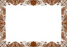 Feld horizontal Stockbild