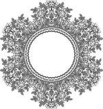 Feld lace-like Stockbild